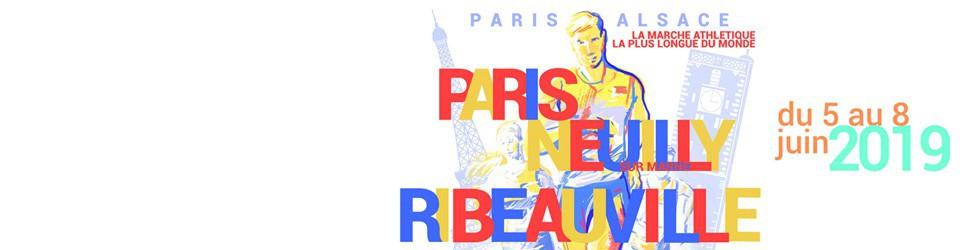 PARIS-RIBEAUVILLE à la marche